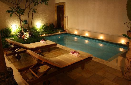 Villa Belharra: Piscine