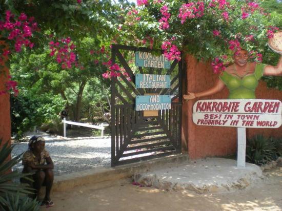 Kokrobite Garden Resort: The Garden