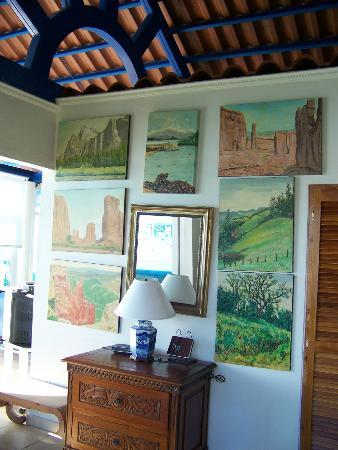 Agua Sol Villa: room painting-Ted's paintings