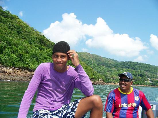 Agua Sol Villa: island boat tour guides