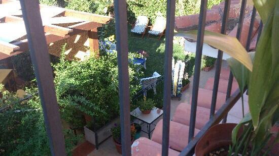 B&B Ansise: dal terrazzino camere primo piano?