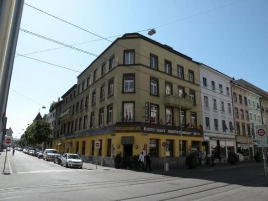 Rheinfelderhof Hotel Restaurant: Lobby View