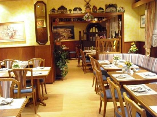 Hotel Garni Fock & Oben: Breakfast Room