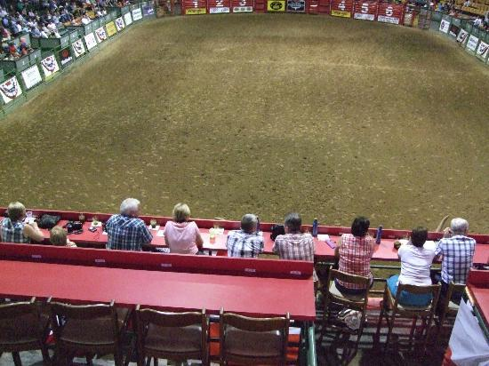 Audience Picture Of Stockyards Rodeo Fort Worth