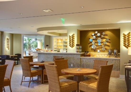 Hyatt Residence Club Sarasota, Siesta Key Beach: Breakfast Lounge