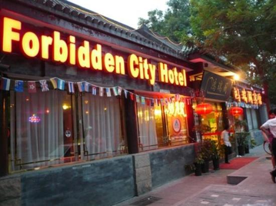 Forbidden City Hostel: Exterior