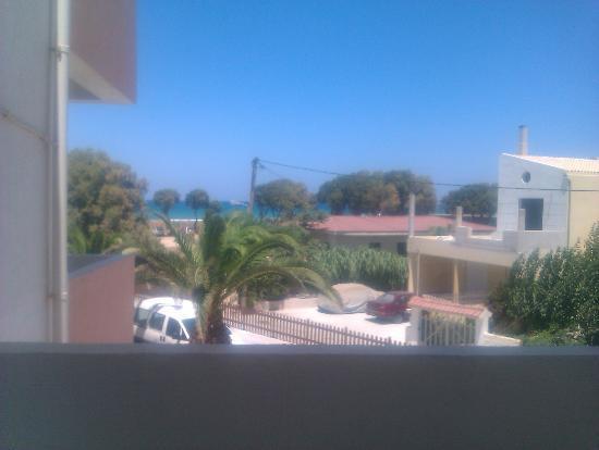 Hotel Akti Corali : vista mare dalla camera
