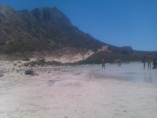 Balos Beach and Lagoon: Acqua cristallina