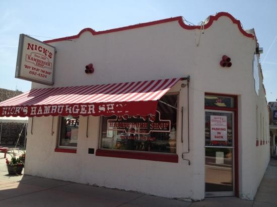 Nick's Hamburger Shop: Take a step back in time at Nick's.