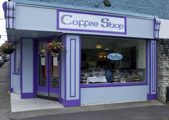 Molly Bloom's Coffee Shop - home of great baking in Cong