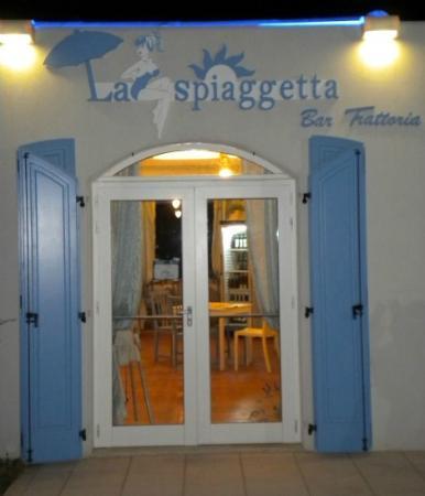 La Spiaggetta: entrata ristorante