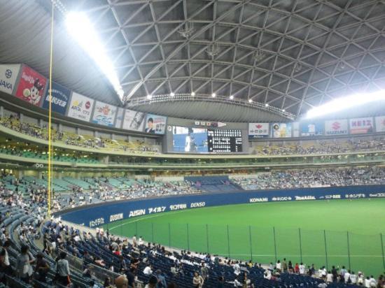 Nagoya Dome : ナゴヤドームの中