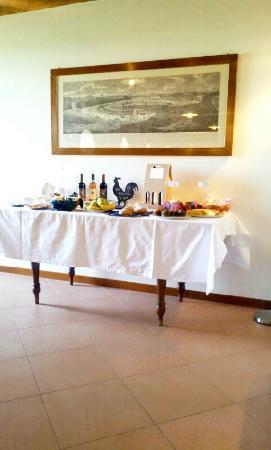 Agriturismo B&B Gallo Nero: la colazione....anzi la grande abbuffata!!!!