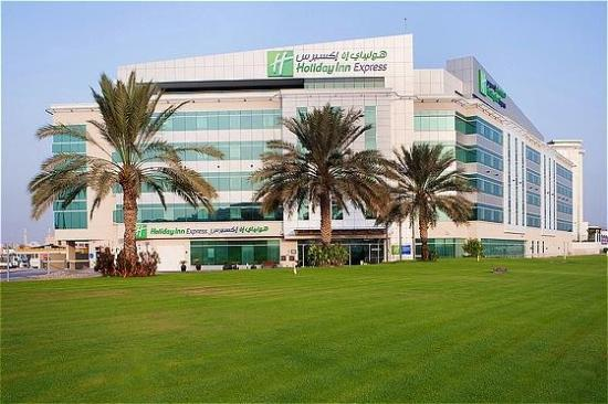 Holiday Inn Express Dubai Airport: Hotel Exterior
