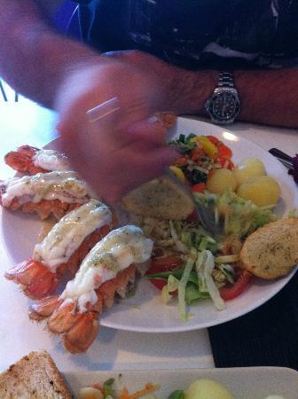The Capital-Inn: Lobster cost 25€