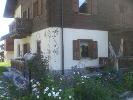 Chalet Cambra: particolare dell'appartamento Mirò