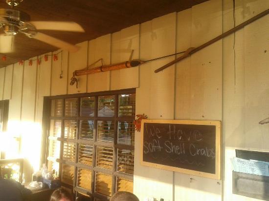 Shore Fresh Seafood Market & Restaurant: Nautical Decor on Porch