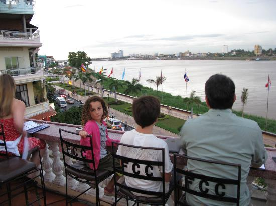 FCC Phnom Penh: View from the top level