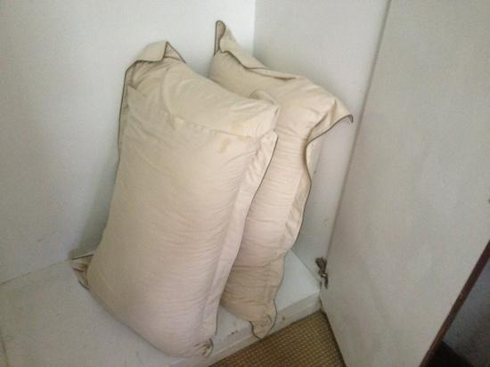 Moeleng Boutique Residence (S2S Boutique): clean pillows?? don't think so