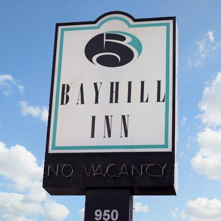 Bayhill Inn San Bruno CAExterior Sign