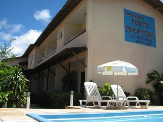 Pousada Porto Tropical: Exterior