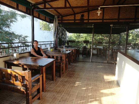 Boomerang Guesthouse Ephesus: breakfast terrace