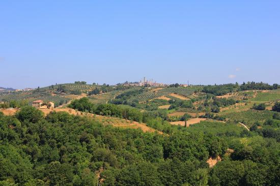 Torraccia di Chiusi: View from nearby