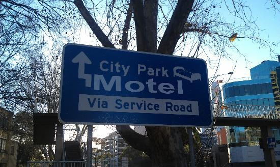 City Park Hotel: It clearly says Motel here, and Hotel everywhere else