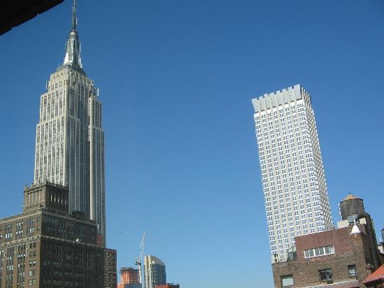 โรงแรม เดอะ คิตาโน่ นิวยอร์ค: 窓の外はエンパイア