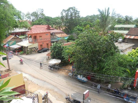 Downtown Siem Reap Hostel : View from rooftop