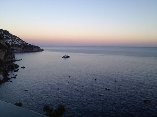 Il San Pietro di Positano: visão do terraço do restaurante
