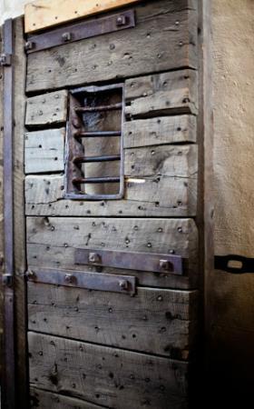 San Juan County Historical Society: Jail door