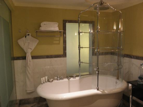 Le Royal Meridien Abu Dhabi: vasca da bagno con doccia