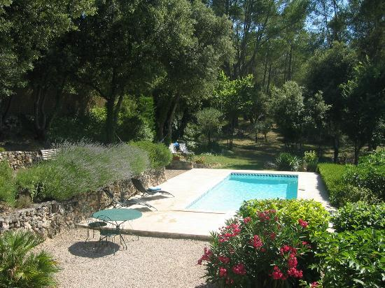 Lou Soleou : piscine privée