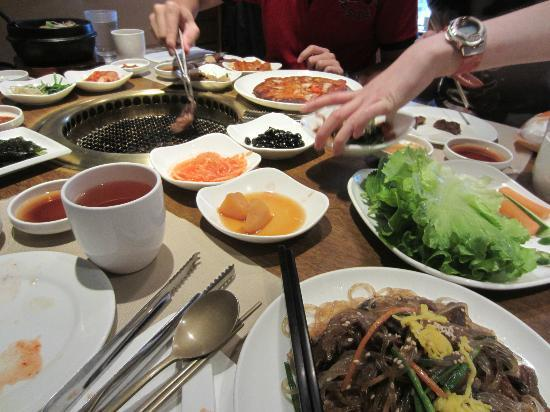 Myung Ga Korean Restaurant : Korean BBQ