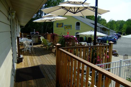 Ephraim Motel: Sun deck