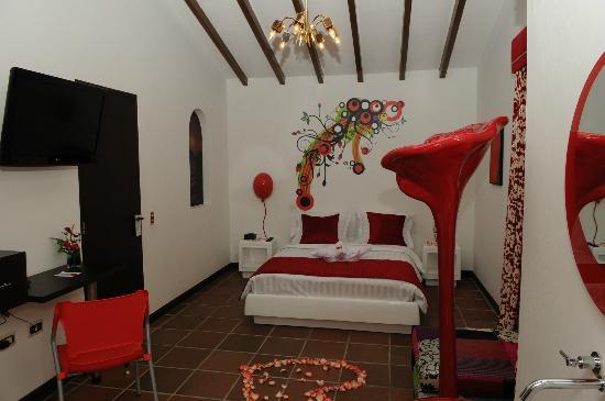 Kolor Hotel Boutique: Habitacion - Escarlata