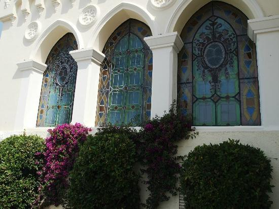 Chateau de Cremat: The Stained Glass Windows
