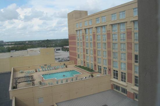 Sugar Land Marriott Town Square: View from room