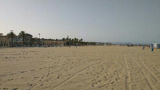Tourist Info Valencia Playa: Malvorrosa (Nice beach in Valencia)