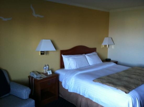 The Marina Inn on San Francisco Bay: king room marina view room 140