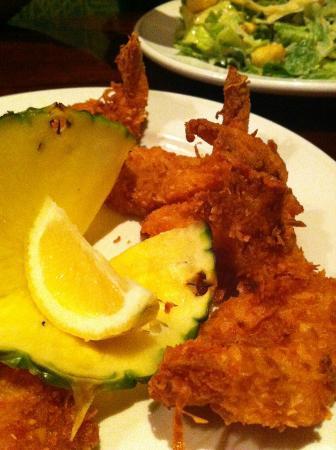 Bahama Breeze: Coconut Shrimp Appertizer - her favorite...