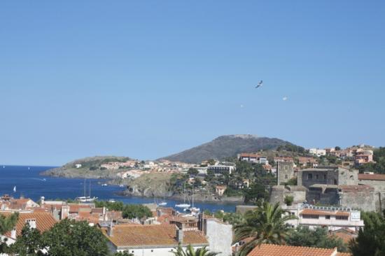 Villa Miranda: View from Xaloc room's balcony