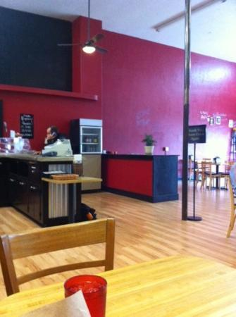 The Block House Cafe: kids play area and toys