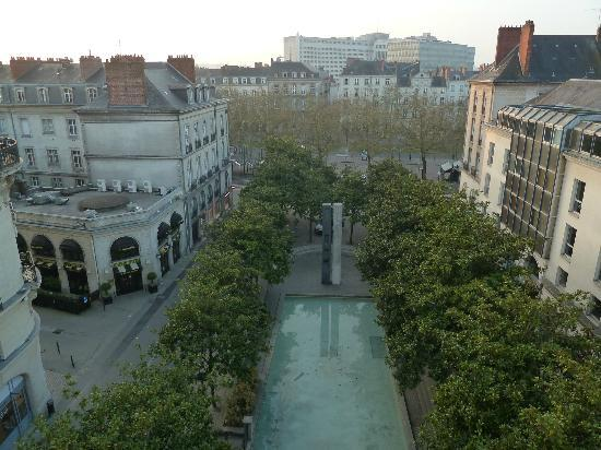 Ibis Styles Nantes Centre Place Royale : Nice view from the room