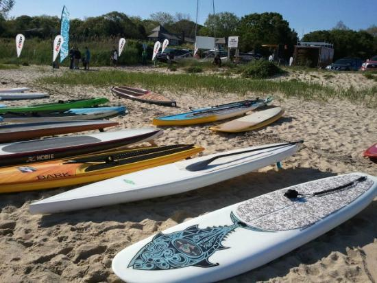 Shelter Island, NY: Havens Beach SUP Race