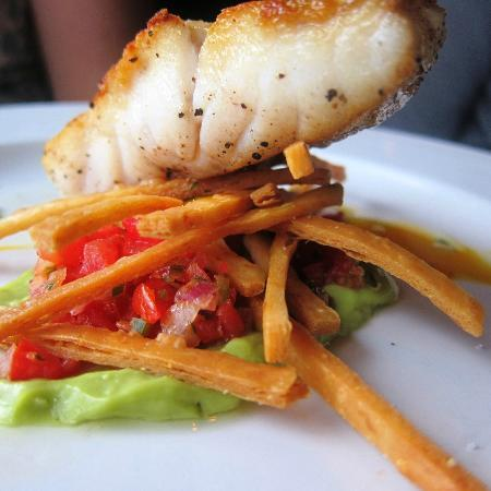 Franklin Cafe: Deconstructed Fish taco
