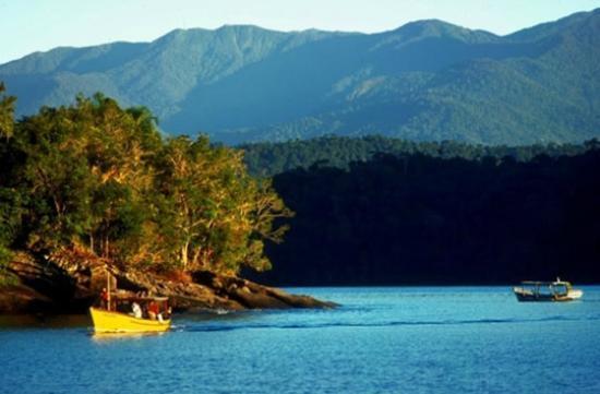 Paraty Bay: Baía de Paraty - RJ - Brasil