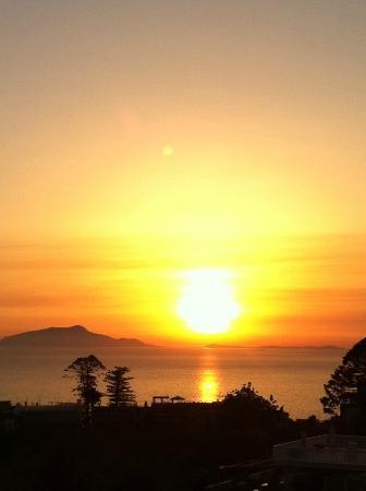 Hotel La Primavera: Sunset from the balcony