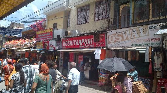 Hoshiyar Puri : Exterior of Restaurant